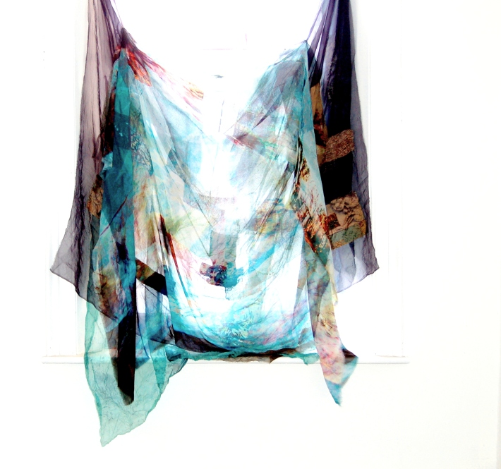 SD boro[d] hand dyed hand stiched panels